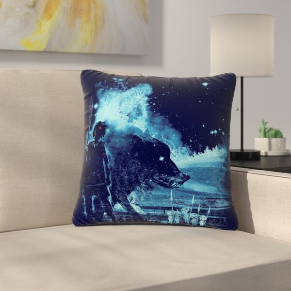 Frederic Levy-Hadida Nature Defenders Illustration Outdoor Throw Pillow by East Urban Home