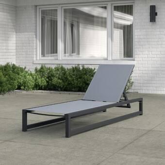 West Sun Lounger Set With Cushions Reviews Joss Main
