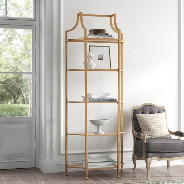 Margot Tall Etagere Bookcase By Kelly Clarkson Home