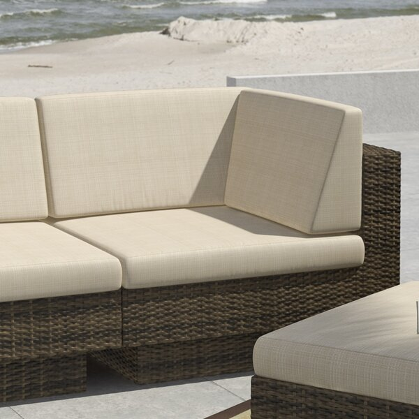 Park Terrace Deep Seating Patio Chair with Cushions by dCOR design