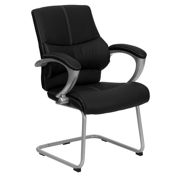 Bostrom Executive Leather Guest Chair by Ebern Designs