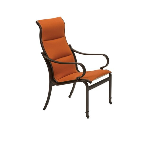 Torino Patio Dining Chair with Cushion by Tropitone