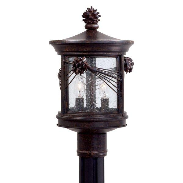 Abbey Lane Outdoor 2-Light Lantern Head by Great Outdoors by Minka