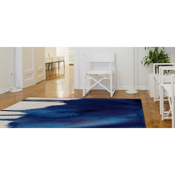 Cornejo Blue Area Rug by Brayden Studio