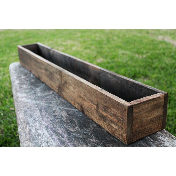 Camera Wood Planter Box by Loon Peak