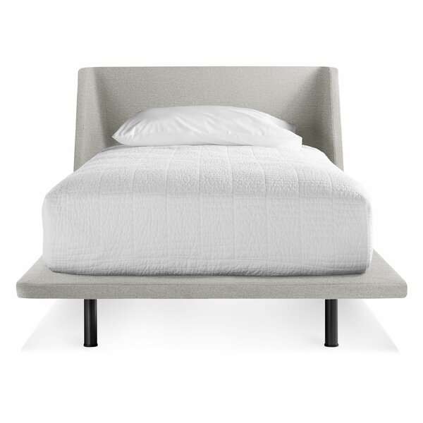 Nook Upholstered Platform Bed by Blu Dot