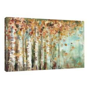 'Aspen Strokes' by Tre Sorelle Studios Painting Print on Wrapped Canvas by Jaxson Rea