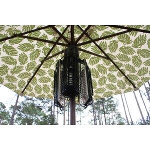 Umbrella 1500 Watt Electric Hanging Patio Heater