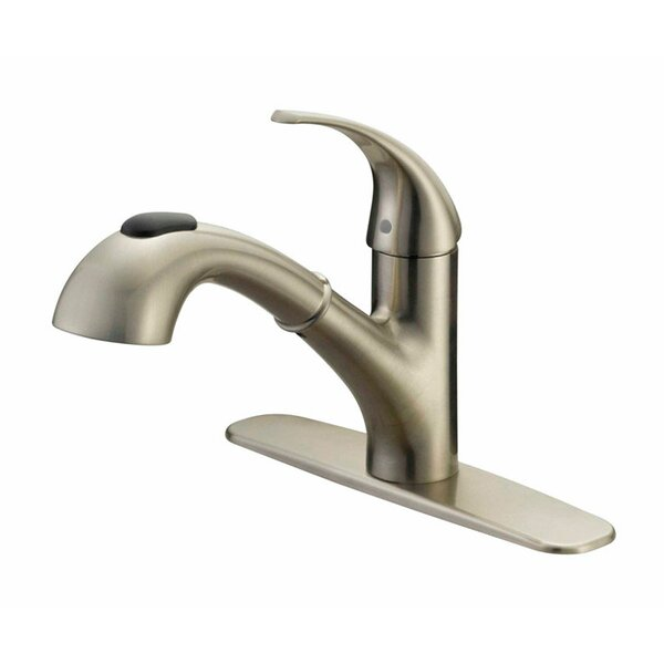 Touch Single Handle Kitchen Faucet by Oakbrook Collection