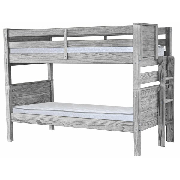 Folkeste Twin over Twin Bunk Bed by Harriet Bee