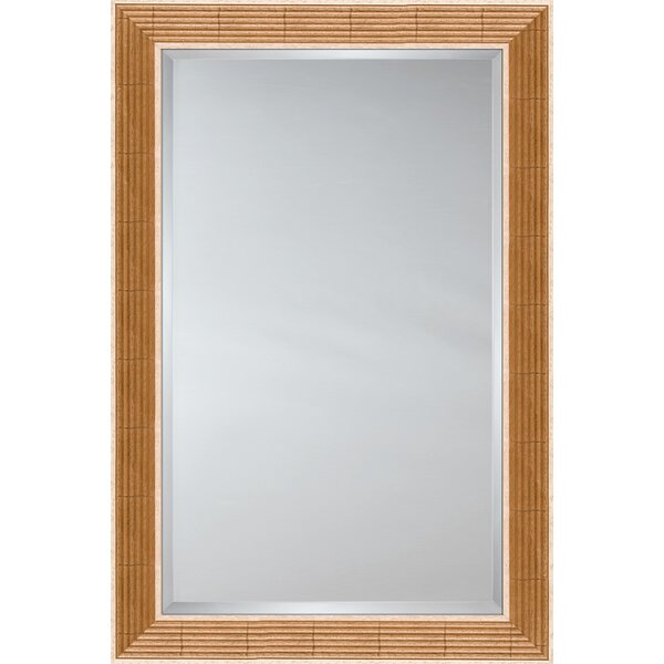 Mirror Style 81071 - Golden Reed with Natural Panels by Mirror Image Home