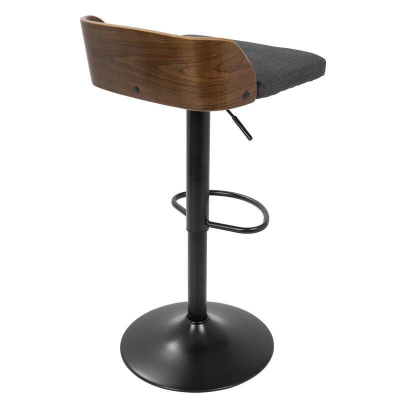 Pleasant Rockaway Adjustable Height Swivel Bar Stool Uwap Interior Chair Design Uwaporg