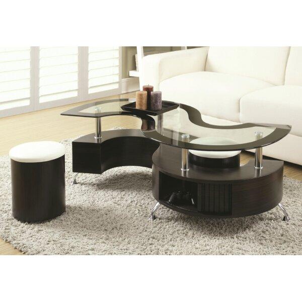 Pauletta 3 Piece Coffee Table Set by Orren Ellis Orren Ellis