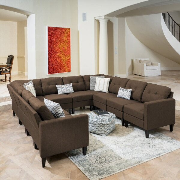 Best Price LaGuardia Symmetrical Modular Sectional