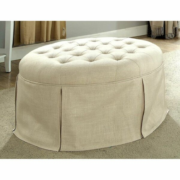 Dorado Round Ottoman by Red Barrel Studio