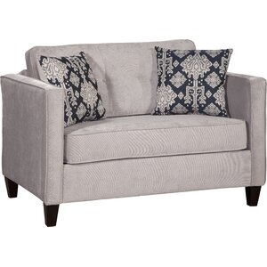 Serta Upholstery Cia Sleeper Loveseat by Willa Arlo Interiors
