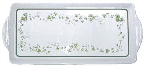 Impressions Callaway Melamine Tidbit Rectangular Serving Platter by Corelle