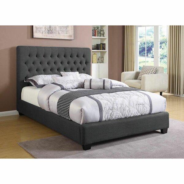 Broomsedge Upholstered Standard Bed by Red Barrel Studio