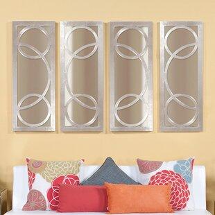 Latitude Run Rectangle Lacquer Wall Mirror