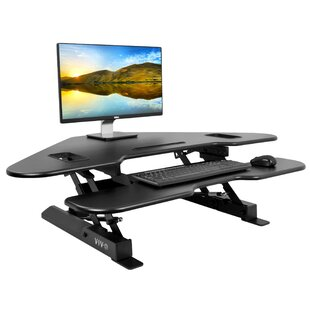 Bowman Adjustable Standing Desk Converter by Orren Ellis
