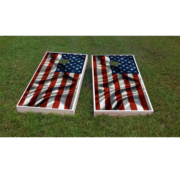 Country Flags Light Weight Cornhole Game Set by Custom Cornhole Boards