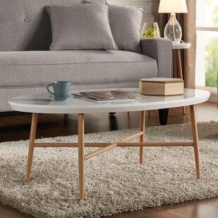 Umstead Oval Engineered Wood Coffee Table