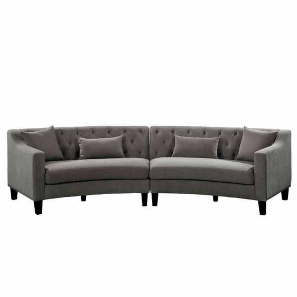 Milardo Symmetrical Sectional By Alcott Hill
