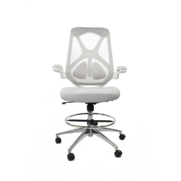 High-Back Mesh Drafting Chair by Fräsch
