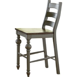 Bargain Serpentaire Traditional Ladder Solid Wood Dining Chair (Set of 2) by Lark Manor