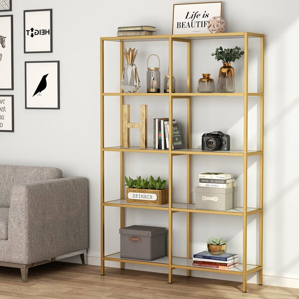 Cheever Etagere Bookcase By Everly Quinn