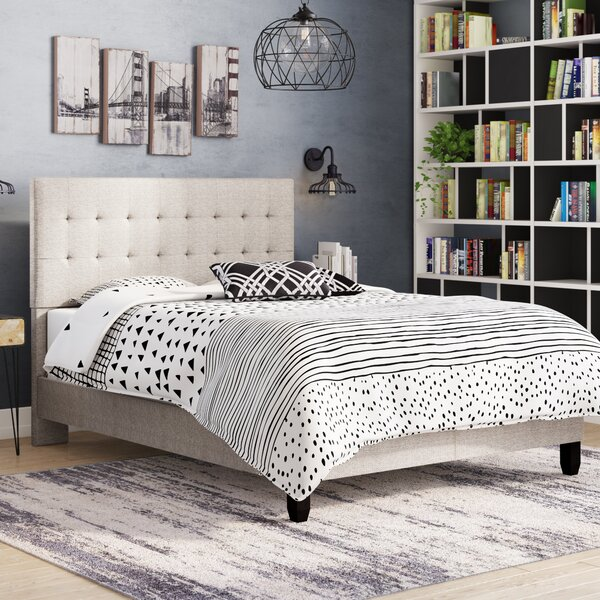 Hansley Queen Upholstered Platform Bed by Brayden Studio
