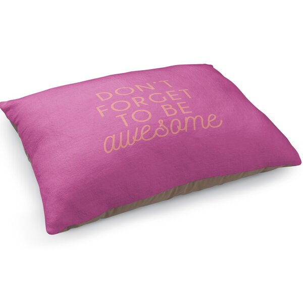 Be Awesome Pet Pillow by KAVKA DESIGNS