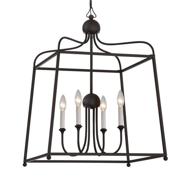 Sylvan 4-Light Foyer Pendant By Libby Langdon For Crystorama