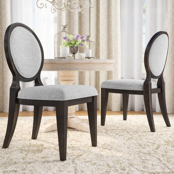 Suzann Round Fabric Side Chair (Set of 2) by Laurel Foundry Modern Farmhouse