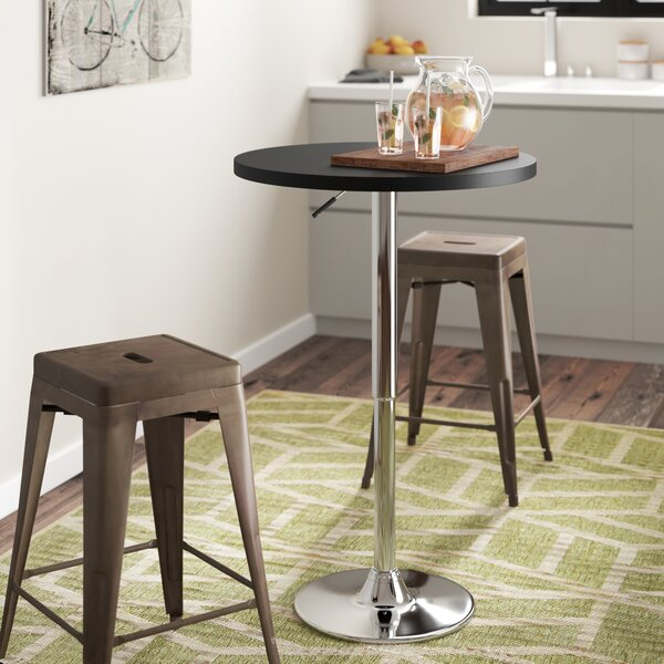 Madeline Adjustable Height Pub Table by Zipcode Design
