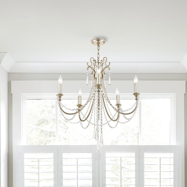 Leta 5 - Light Candle Style Empire Chandelier By House Of Hampton