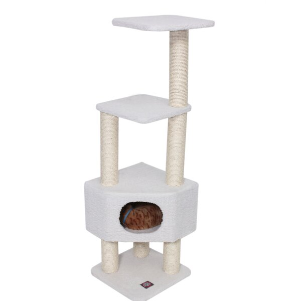 52 Bungalow Sherpa Cat Tree by Majestic Pet Produc