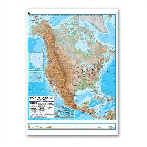 Advanced Physical Deskpad - North America by Universal Map