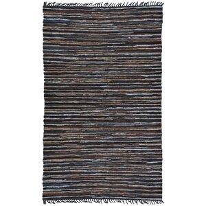 Matador Hand Woven Cotton Brown Area Rug