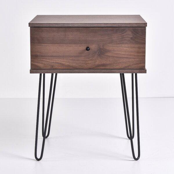Kohr 1 Darwer Nightstand by Wrought Studio