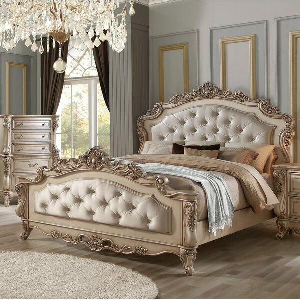 Grajeda Upholstered Sleigh Bed by Astoria Grand
