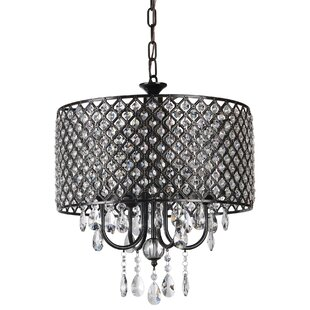 Black crystal chandeliers youll love wayfair save mozeypictures Gallery