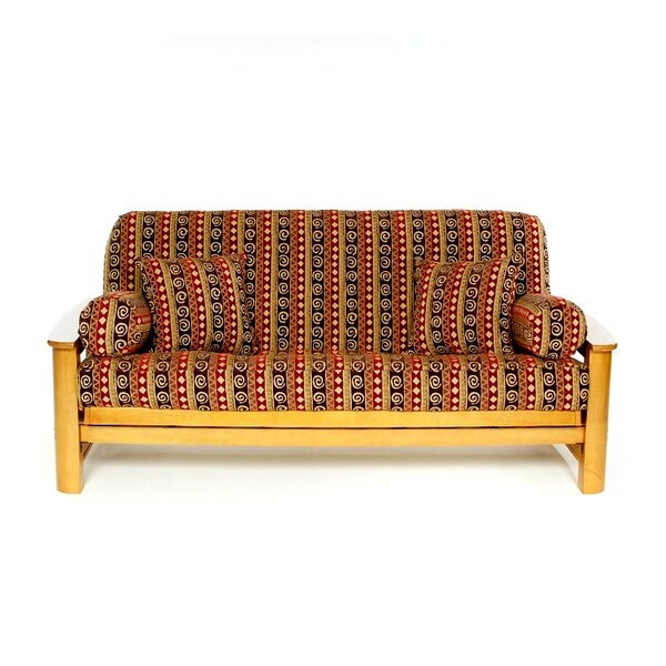 Chipotle Box Cushion Futon Slipcover by Lifestyle Covers