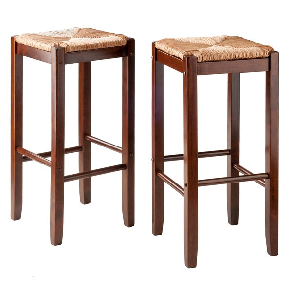 Kaden 29.02 Bar Stool (Set of 2) by Winsome