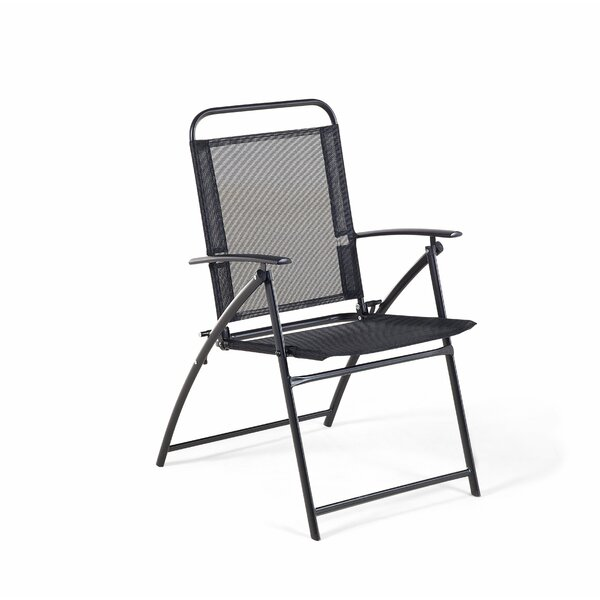 Munson Folding Patio Dining Chair (Set of 4) by Winston Porter