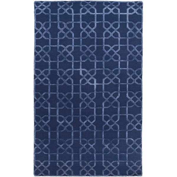 Rarden Navy Area Rug by Darby Home Co