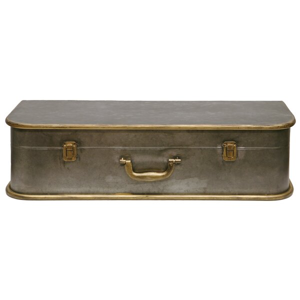 Camelia Tin Luggage Wall Shelf by Ophelia & Co.
