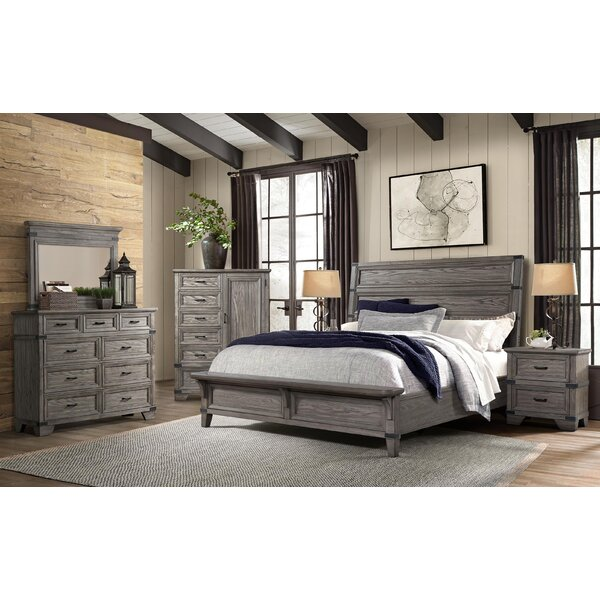 Palmateer Platform Configurable Bedroom Set by Gracie Oaks