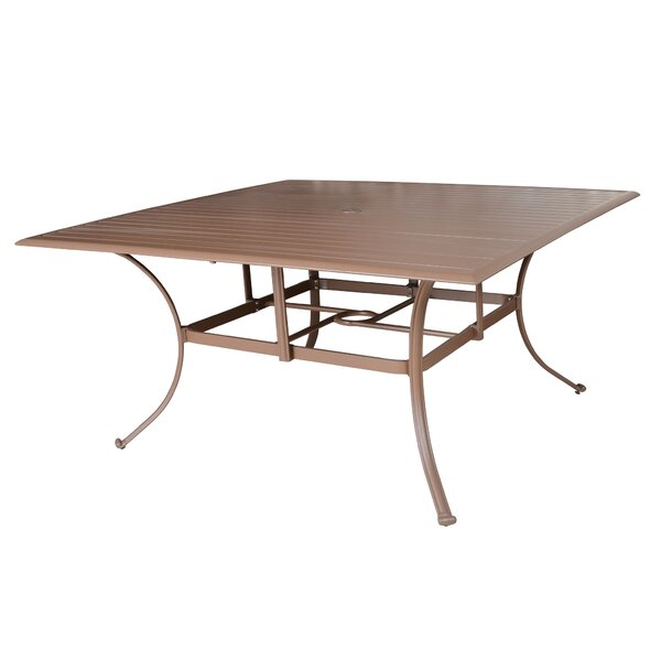 Island Breeze Metal Dining Table by Panama Jack Outdoor