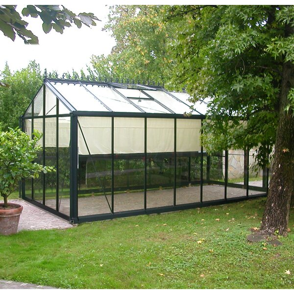 19 Ft. W x 10 Ft. D Greenhouse by Janssens of Belgium